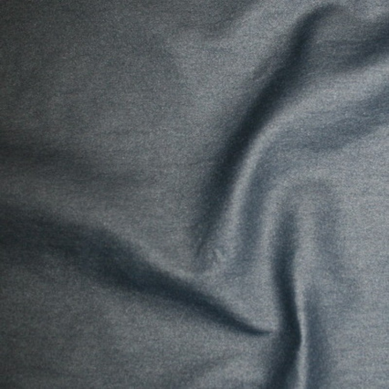 Rest Bengalin/buksestof coated i læder-look marine 85 cm.-33