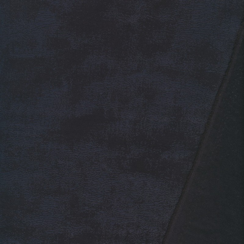 Suede/ruskind i antik look m/stræk sort/koks-33