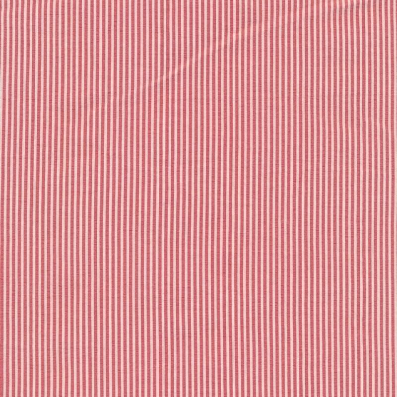 Smal-stribet bengalin knækket hvid og rød-39