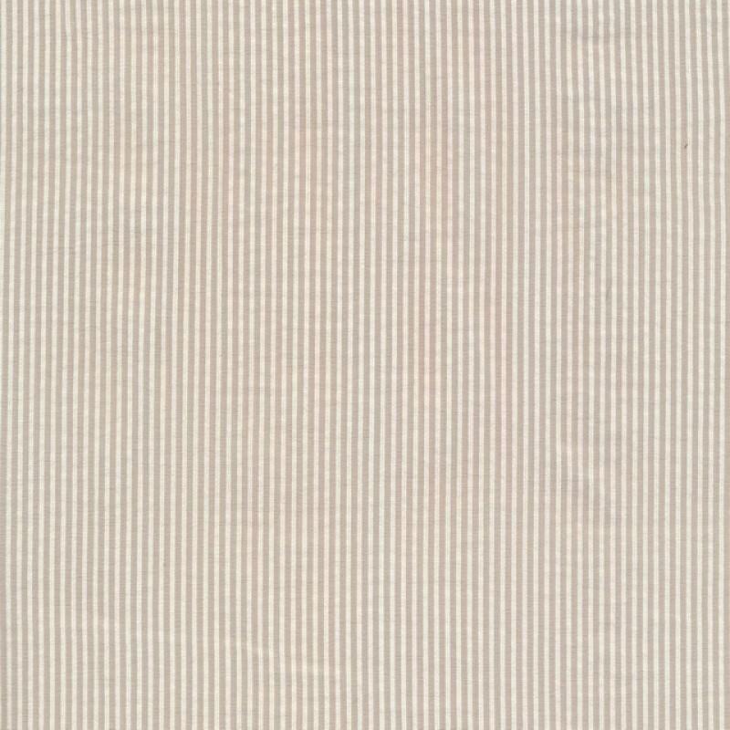 Smal-stribet bengalin knækket hvid og beige-310