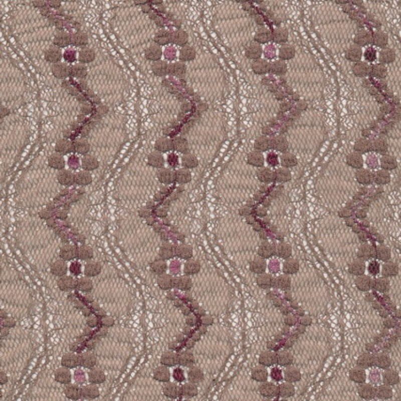 Rest Strækblonde grå-brun/rosa 25 cm.-33