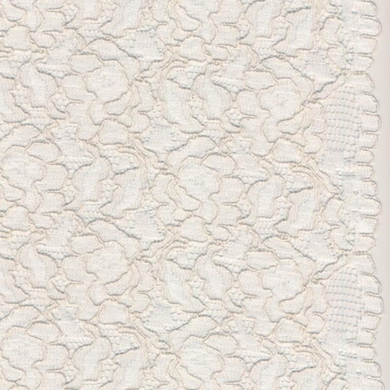 Blonde m/buet kant, ecru/lys off-white-33