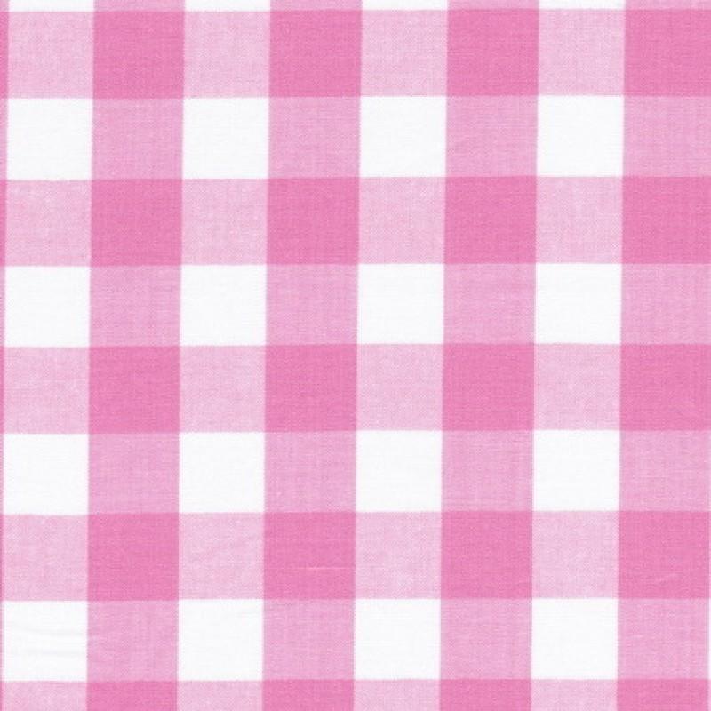 Rest Ternet bomuld hvid/lyserød, 70 cm.-31