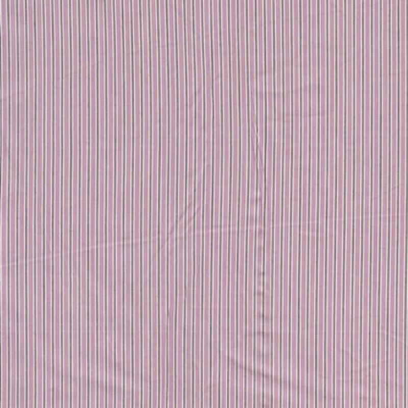 Stribet bomuld m/stræk rosa/oliven/hvid-35
