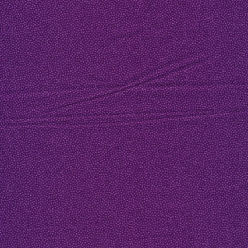 Små-prikket bomuld lilla/rød-lilla-31
