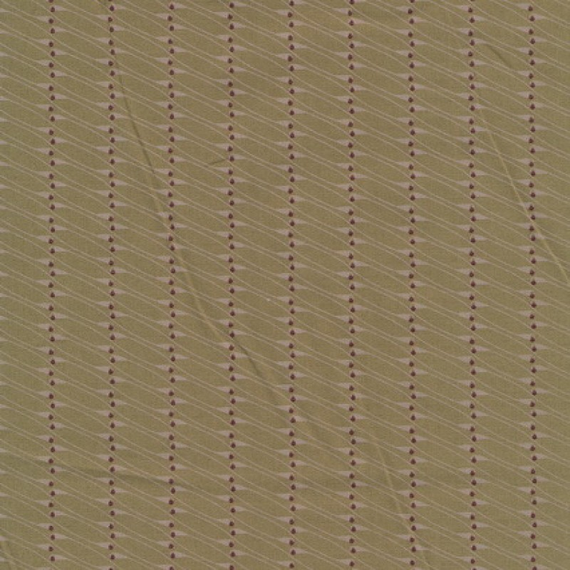 Oliven bomuld m/lille mønster-31