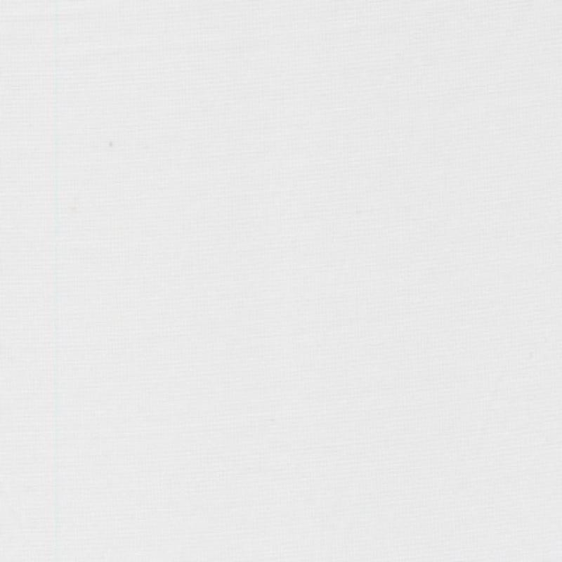 Rest Bomuld/polyester hvid m/lille tern- 75 cm.