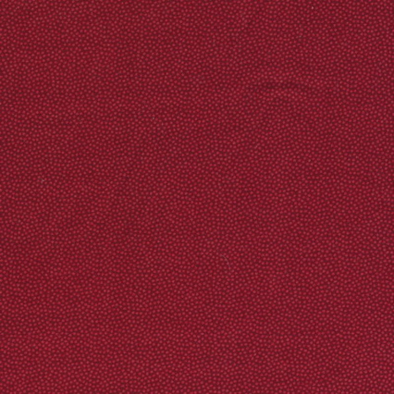 Små-prikket bomuld mørk rød/rød-35