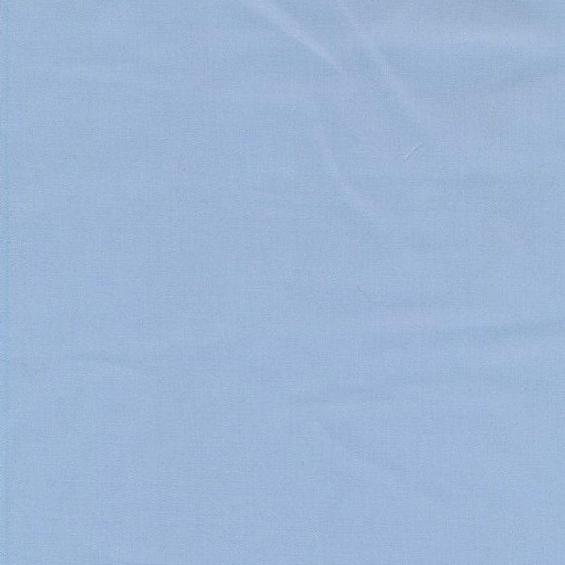 Bomuld/polyester lyseblå-35