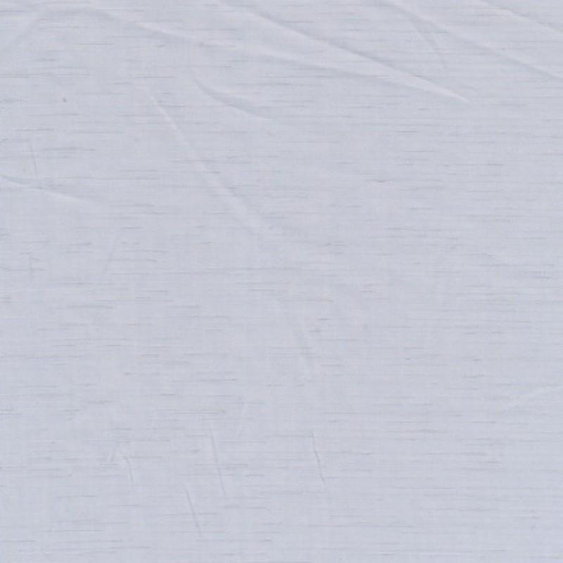 Bomulds-voil lysegrå m/struktur