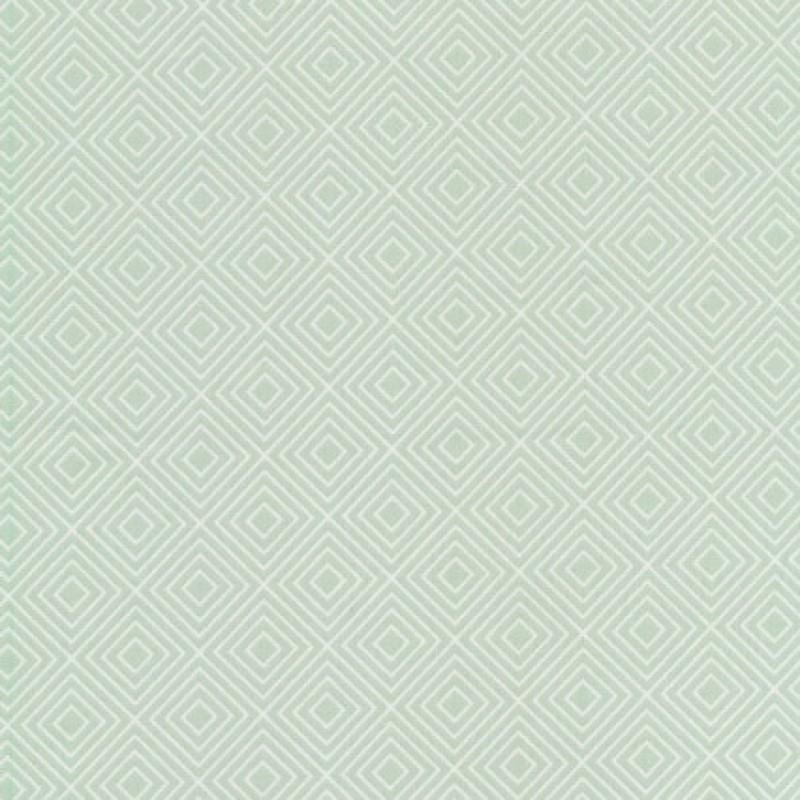 Rest Bomulds-poplin m/rude-mønster, lys lysegrøn, 85 cm.-33