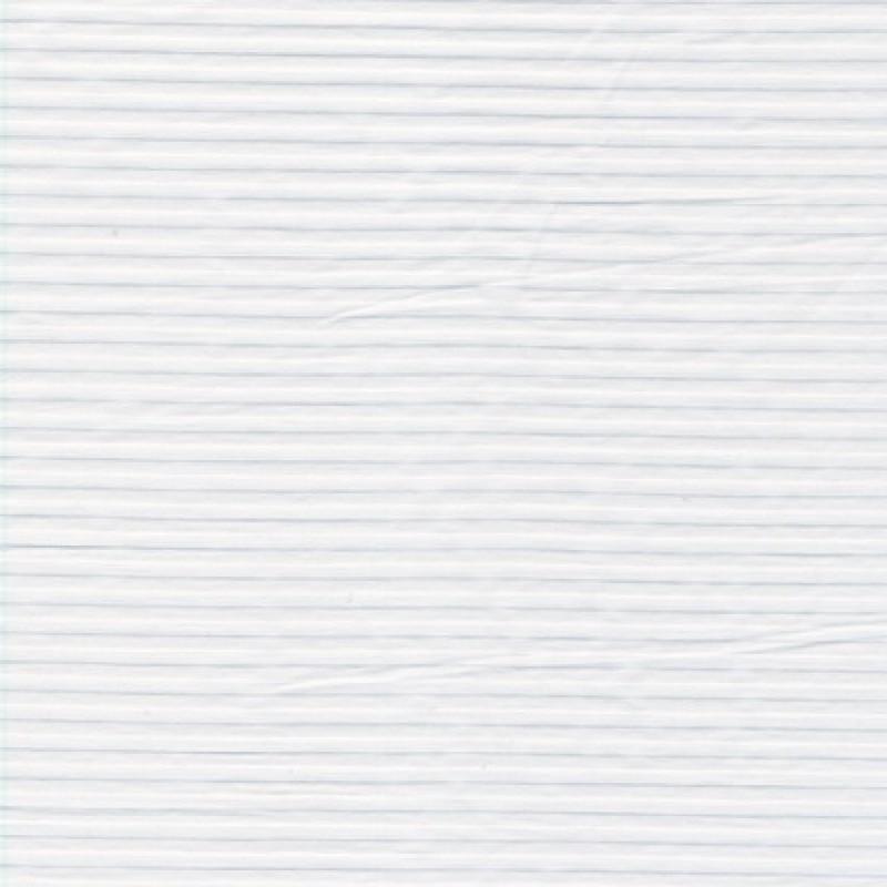 Bomuld m/strib & stræk, hvid