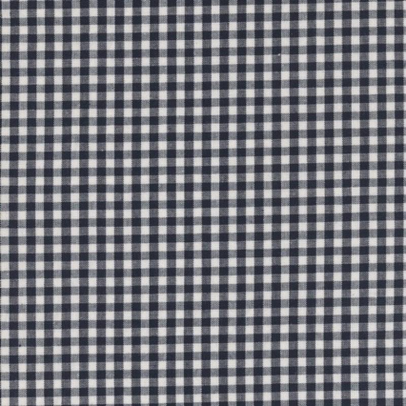 Bomuld ternet hvid/sort 4x4 mm.-35
