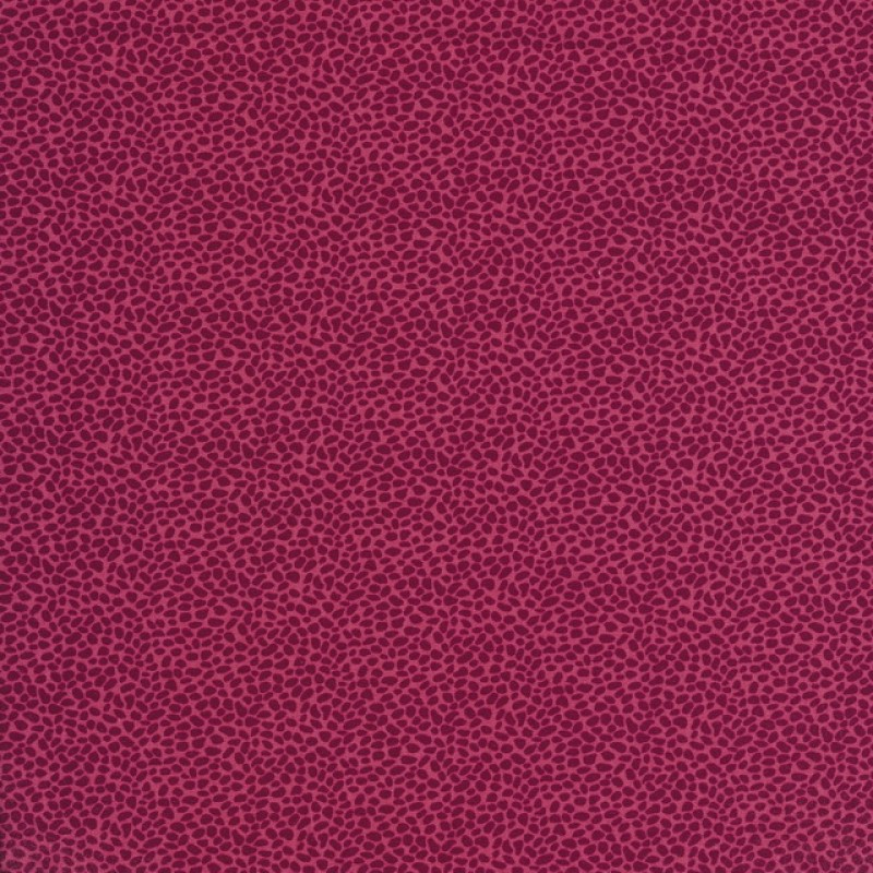 Bomulds-poplin med uens prikker, lys hindbær/bordeaux-31