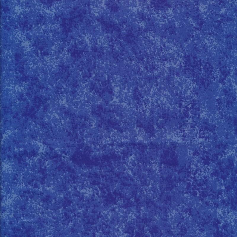 Bomuld batik i blå-38