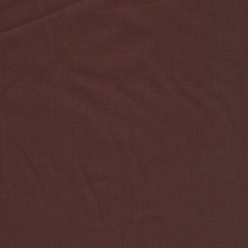 100% bomuld økotex i chokoladebrun-326