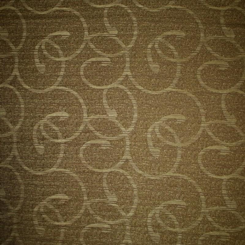 Afklip Møbelstof m/mønster, oliven/lime 50 cm.-31
