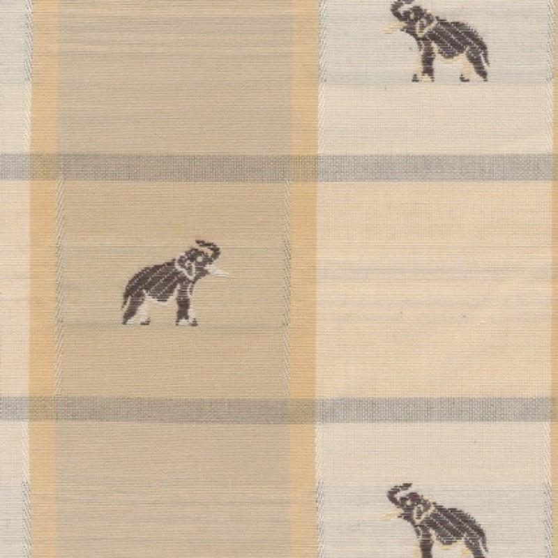 Bomuld/polyester tern m/elefanter-33