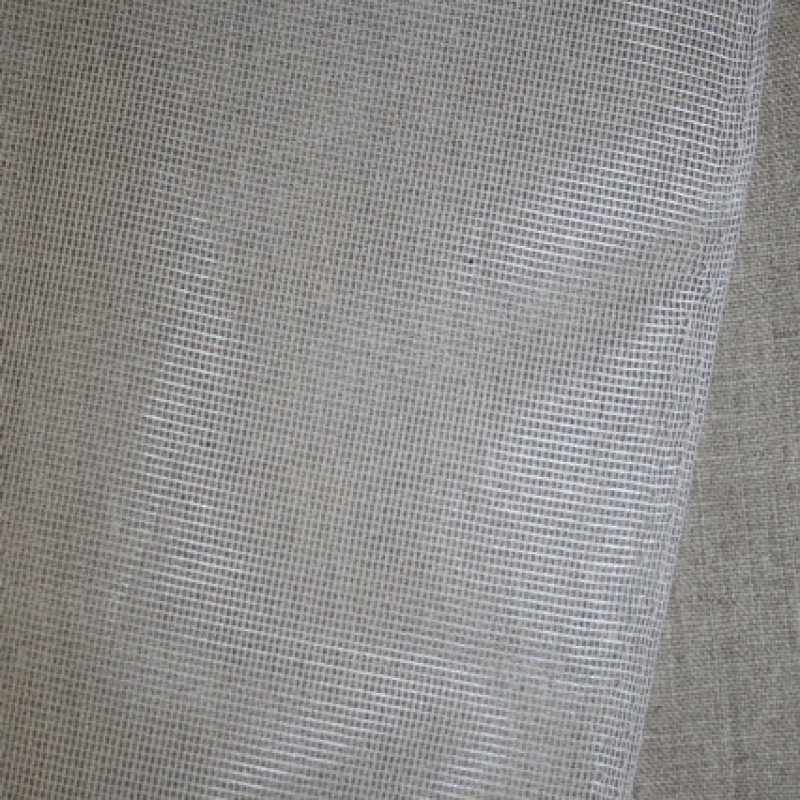 Rest Stof til fluenet/insektnet, hvid , 65cm.