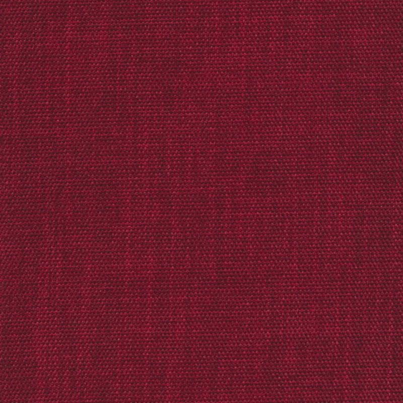 Meleret møbelstof mørk rød