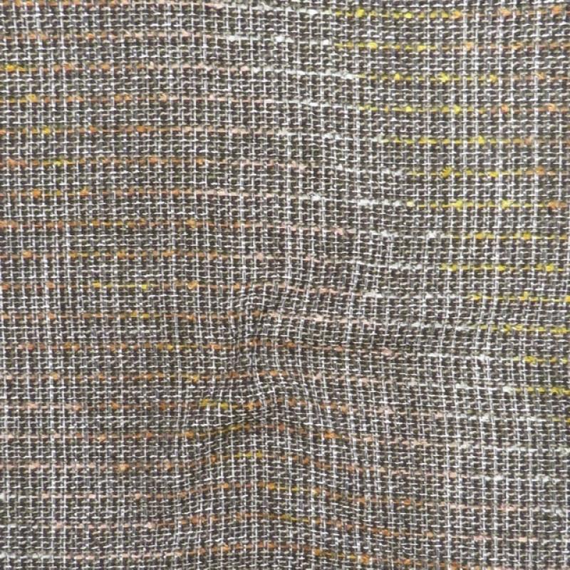 Boucle tweed i brun beige carry rust-35