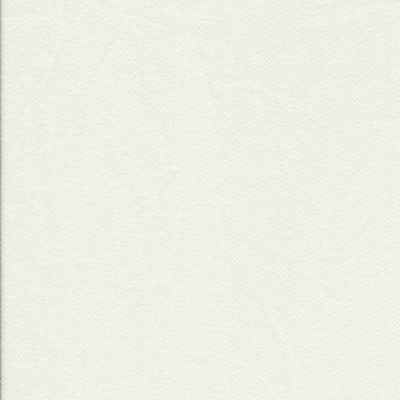 Knækket hvid twill-vævet bomuld-36