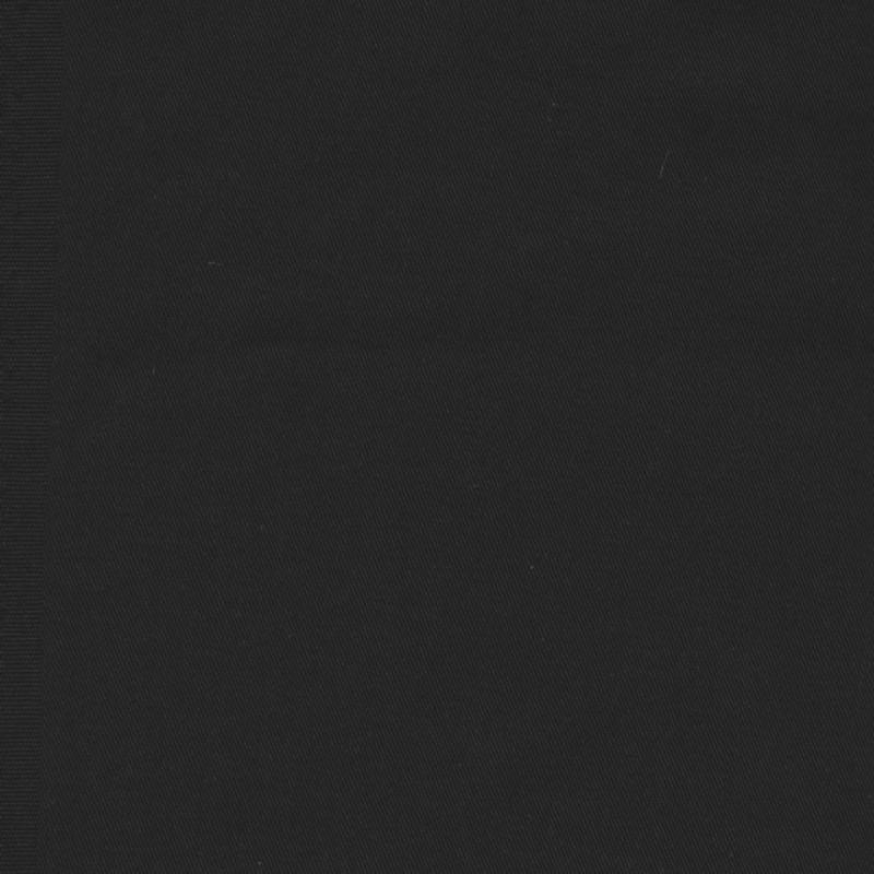 Twillvævet bomuld/denim med stræk i sort