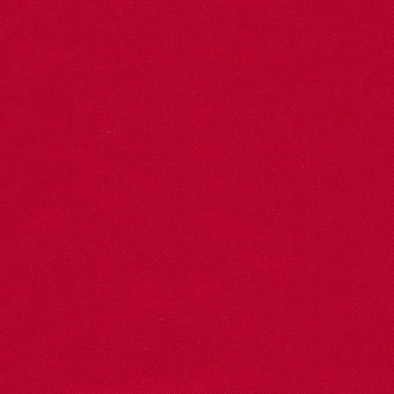 Twillvævet bomuld/denim med stræk i rød-314