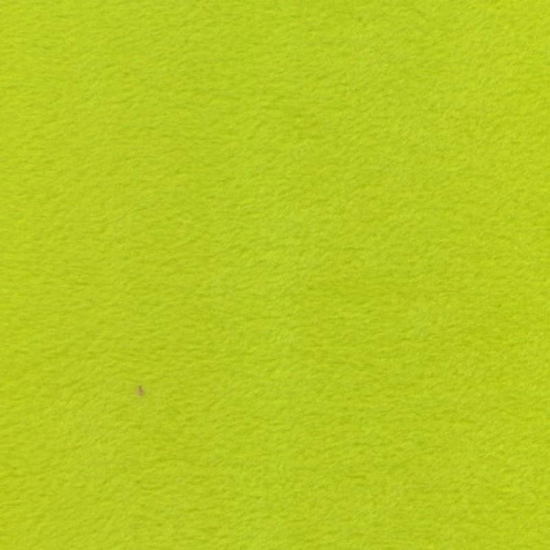 Fleece i lys lime