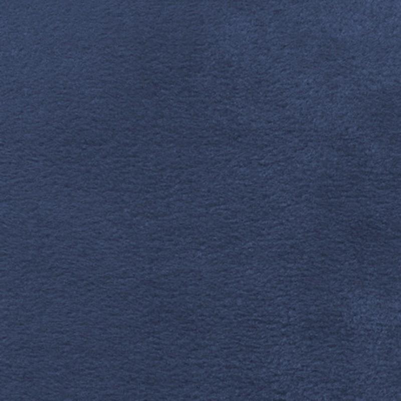 Fleece i denim-blå