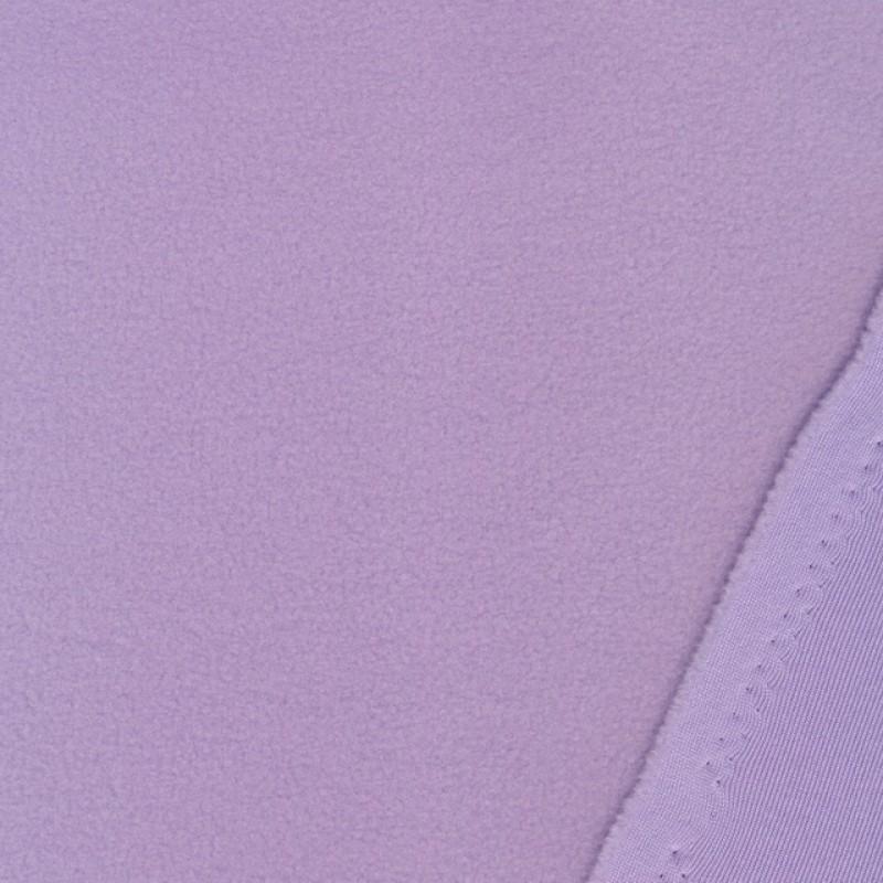 Micro Fleece i lys lilla