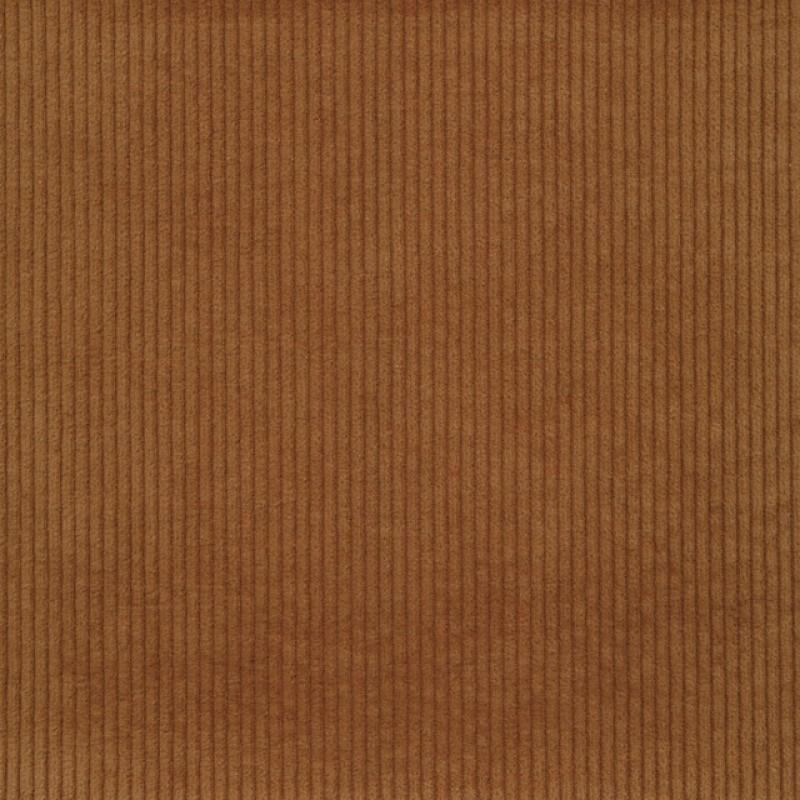 Bredriflet fløjl med stræk i lys rødbrun-33