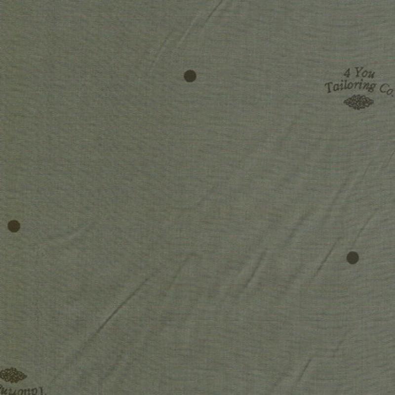 Foer grå/grøn m/prikker