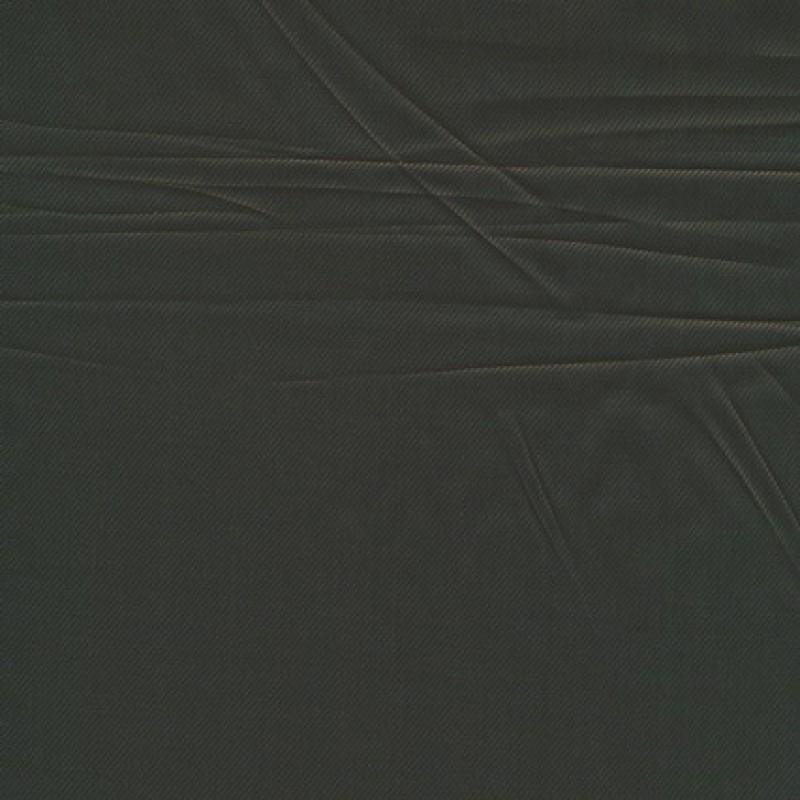 Acetat foer, mørkebrun twill-vævet
