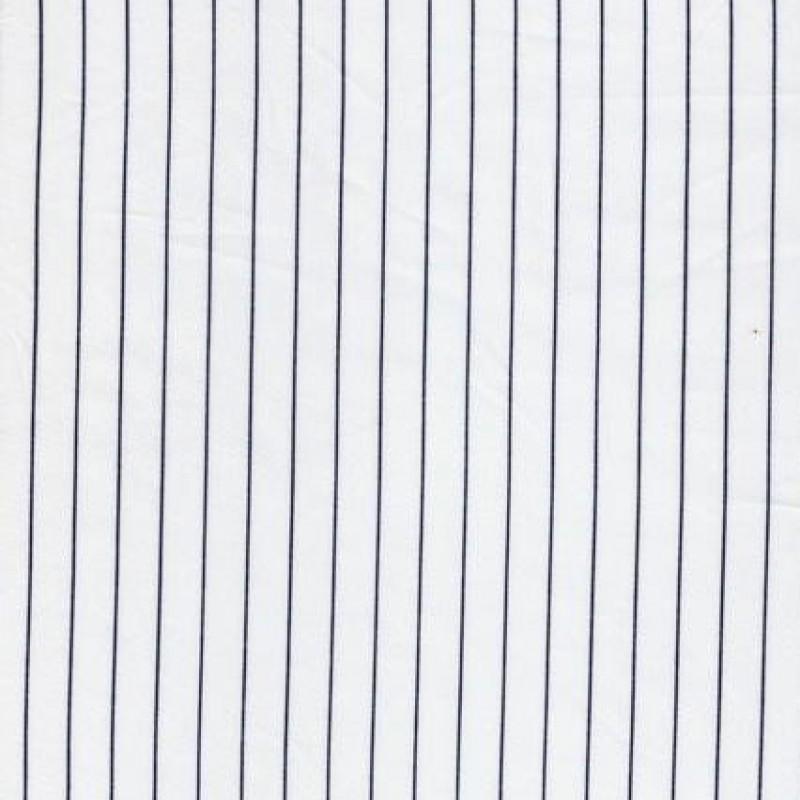 Foer hvid m/blå strib