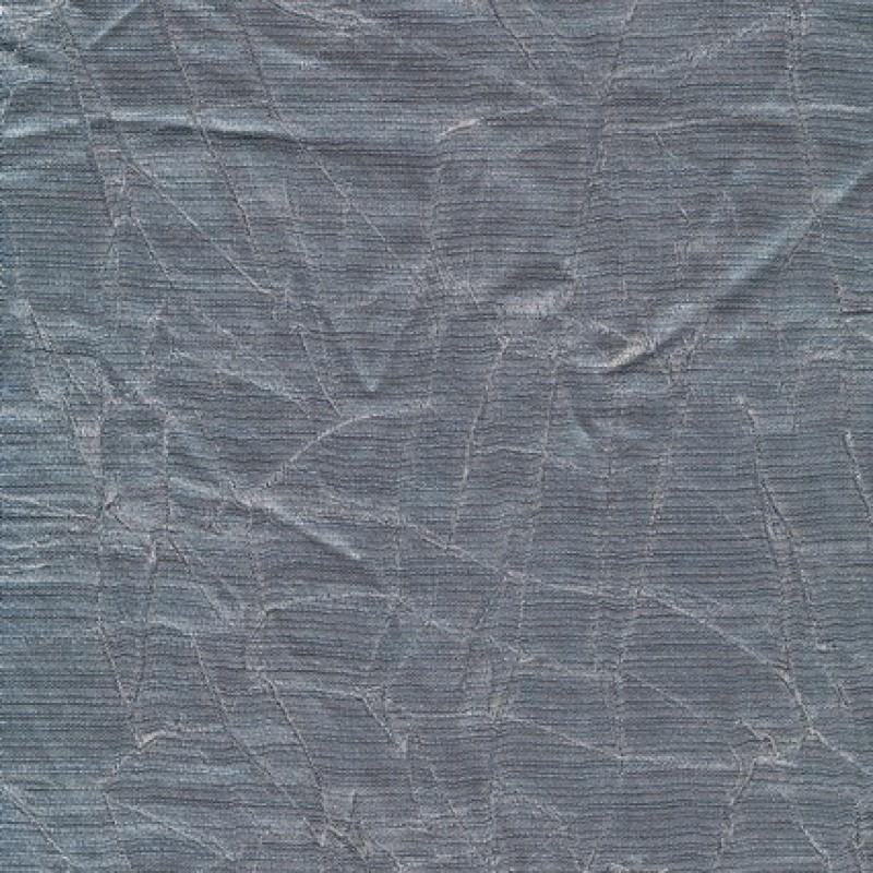 Krakeleret viscose/polyester i sølv-look-33
