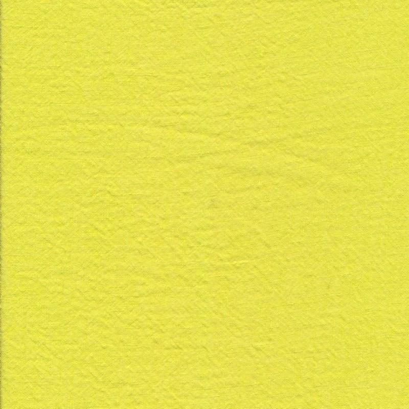 100% vasket hør i lime-gul-310