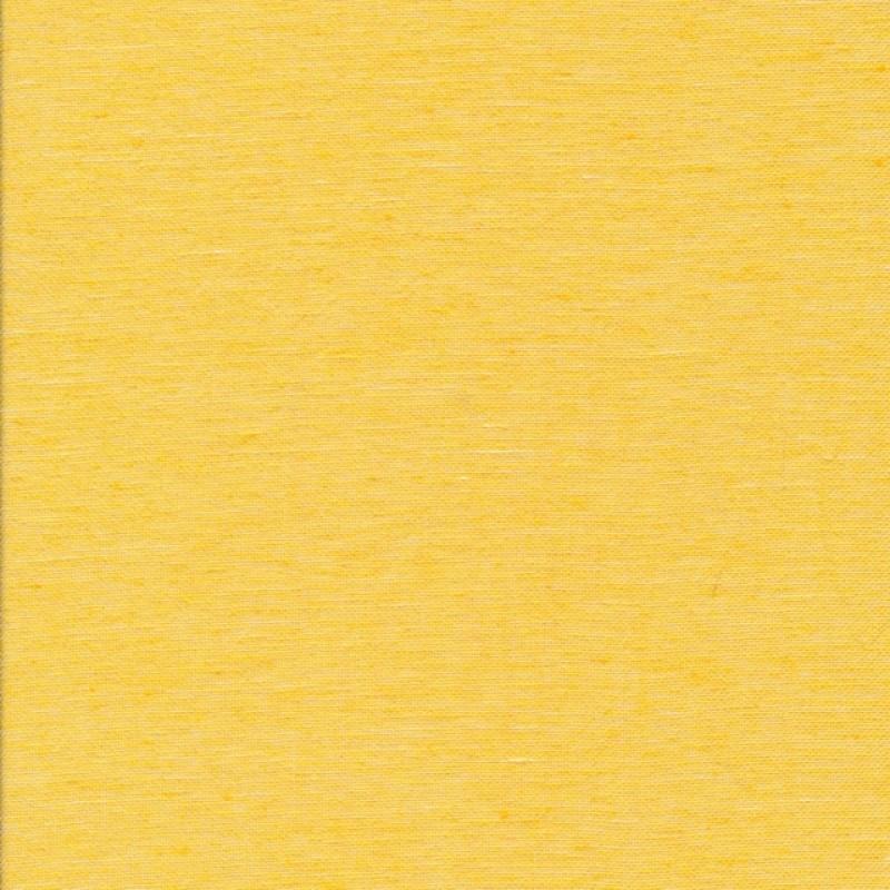Hør bomuld meleret i lys gul-33