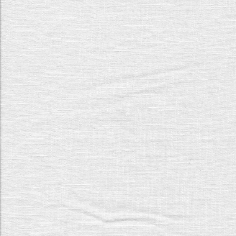 100% vasket ramie-hør i hvid-311