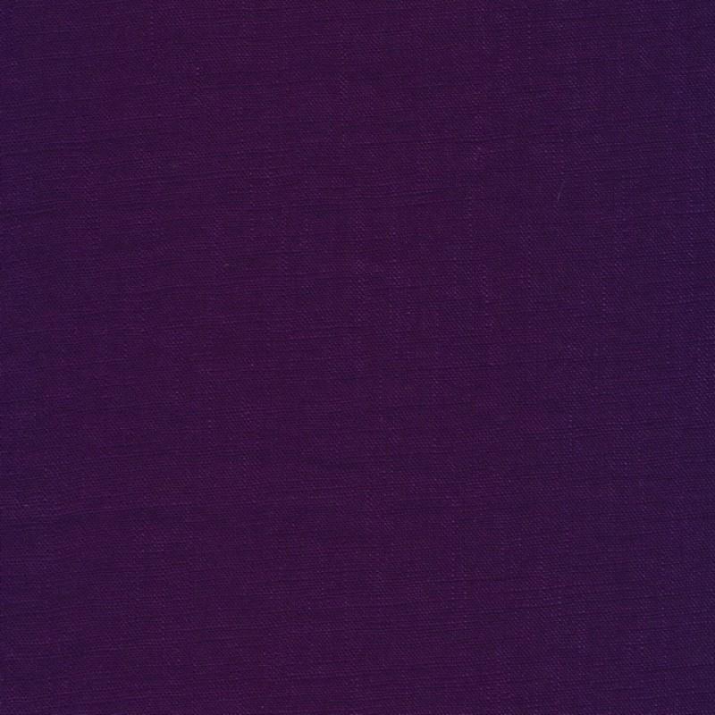 100% vasket ramie-hør i lilla-312