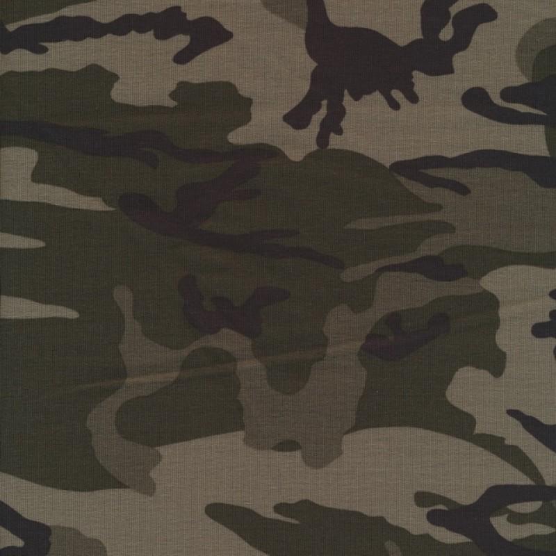 Isoli m/army-print grå-grøn/sort/army-36