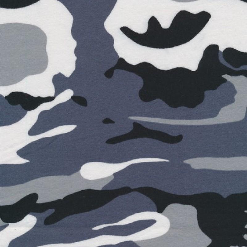 Isoli m/army-print grå/sort/hvid-31