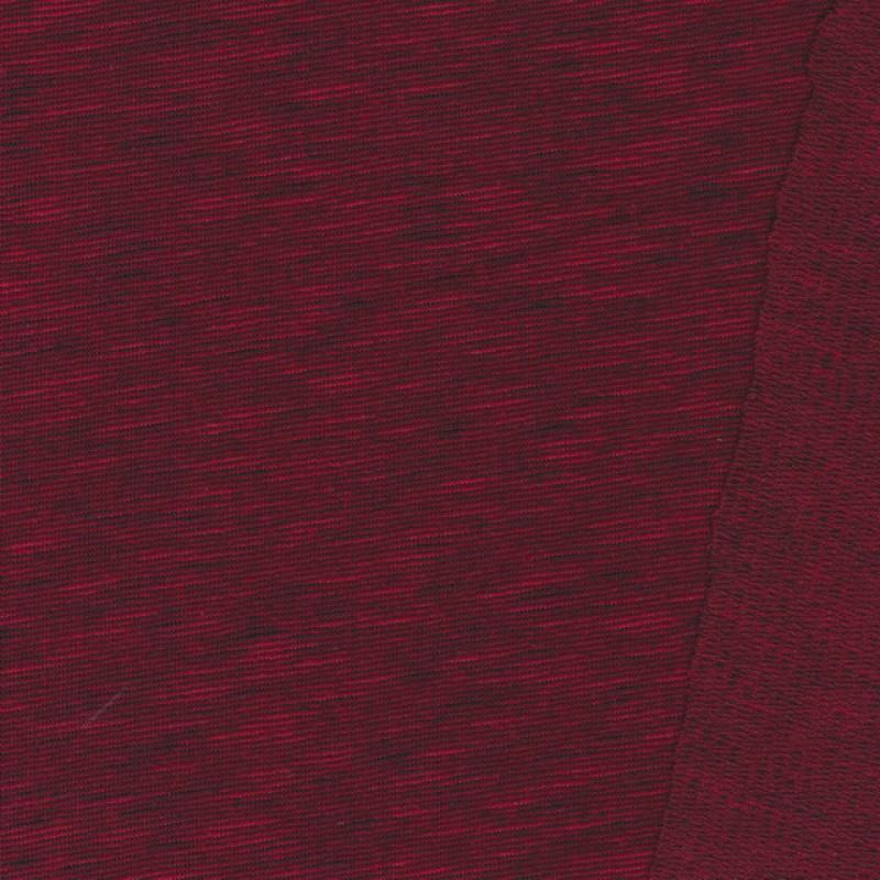 Rest Meleret isoli/strik rød/sort-85 cm.
