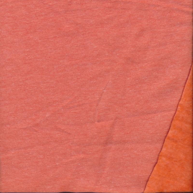 Isoli med stræk, meleret orange/melon