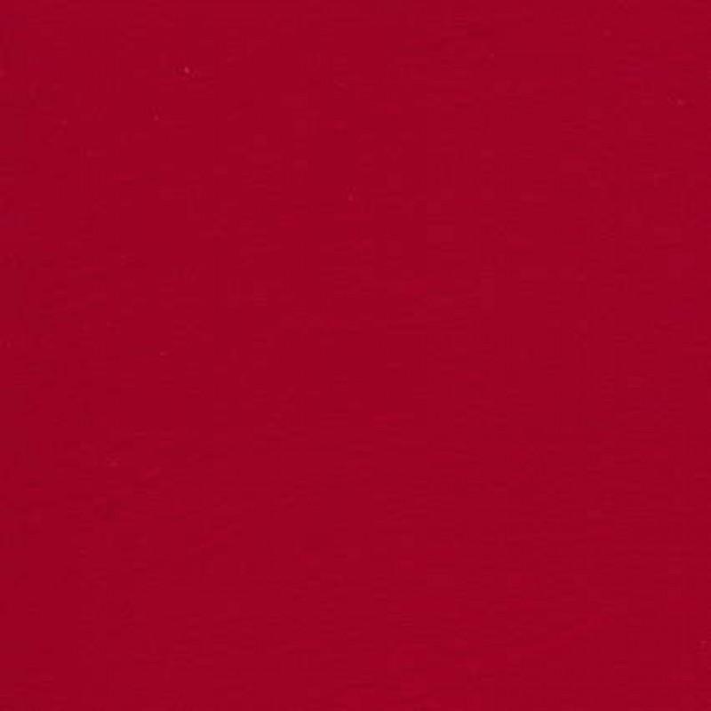 Jersey økotex bomuld/lycra, rød (postkasse rød)