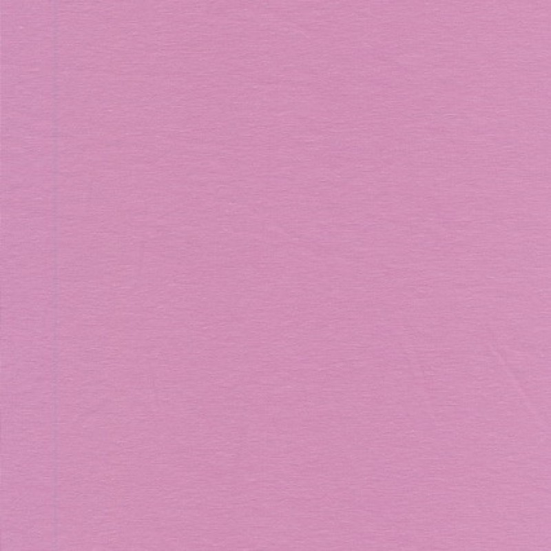 Jersey økotex bomuld/lycra, støvet lyserød/syren-33