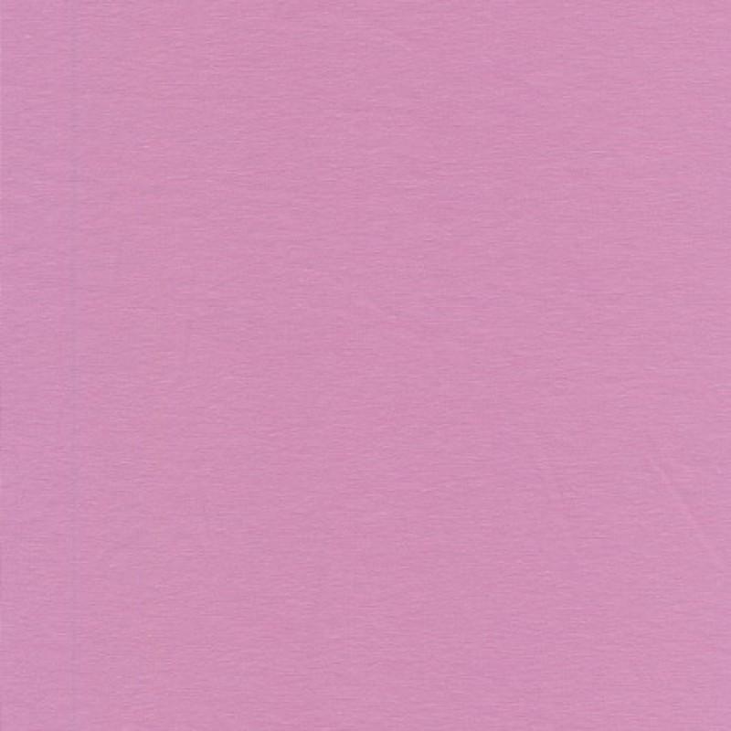 Jersey økotex bomuld/lycra, støvet lyserød/syren