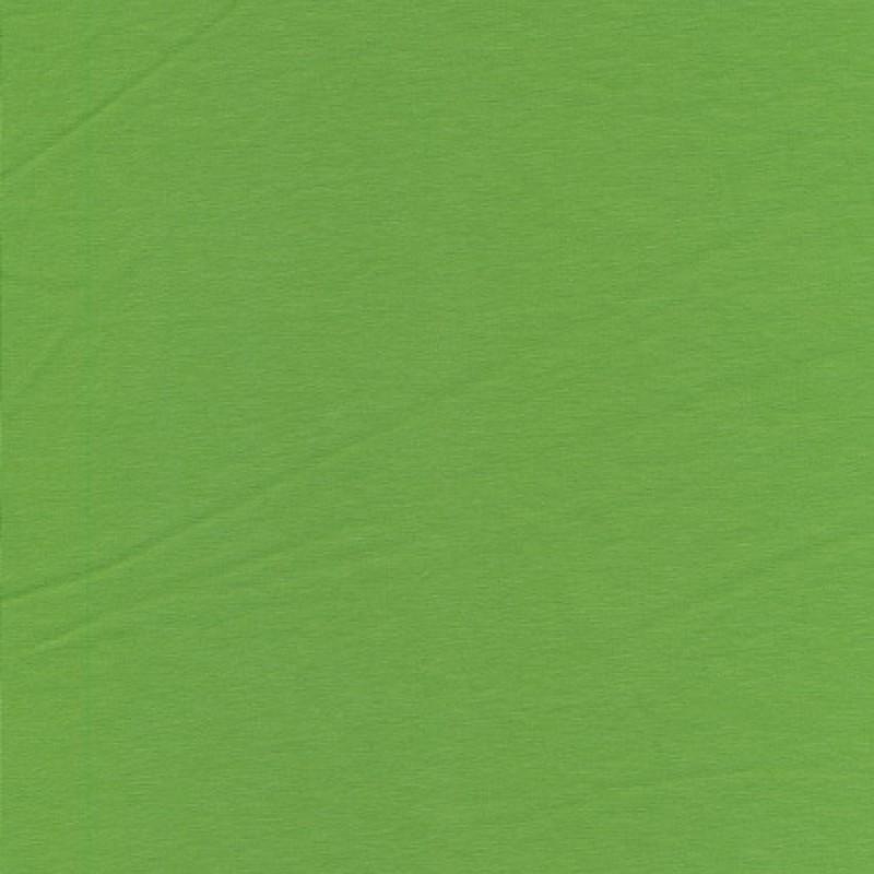 Jersey økotex bomuld/lycra, æblegrøn