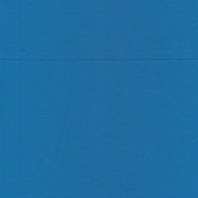 Jersey økotex bomuld/lycra, blå