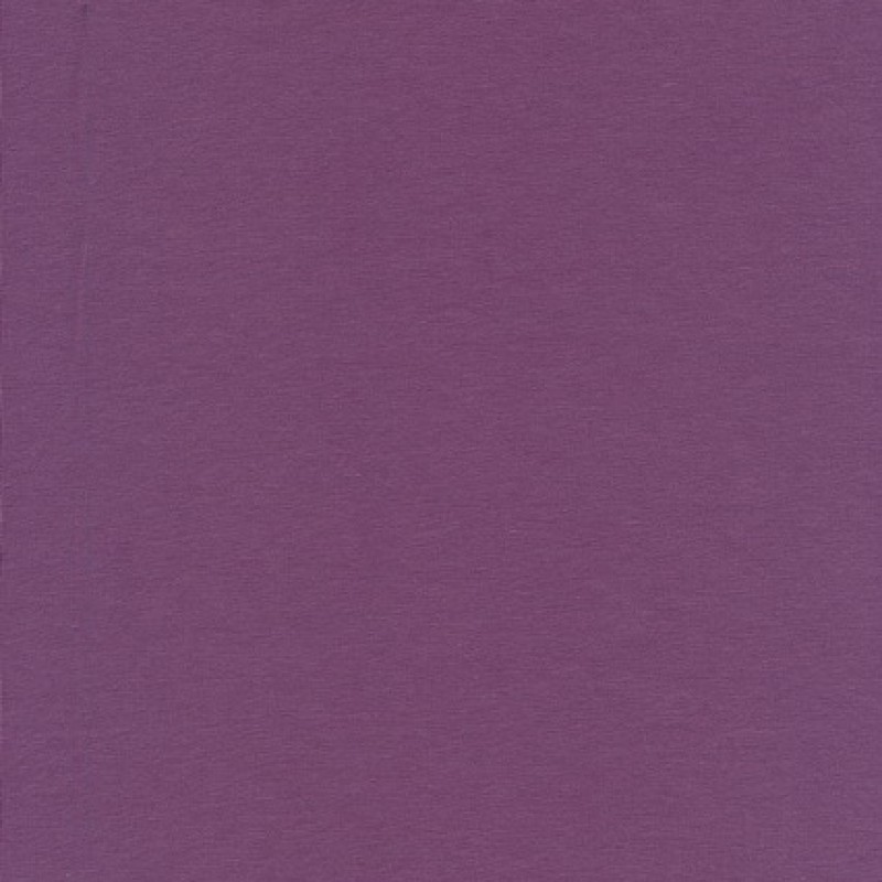 Jersey økotex bomuld/lycra, lyng-33